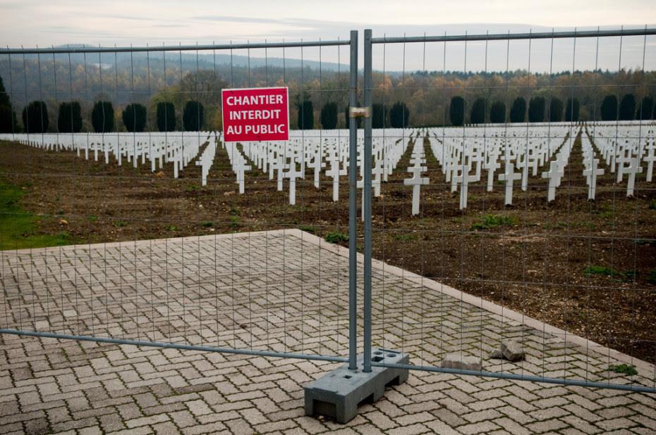 Douaumont dans la forêt de Verdun (55).