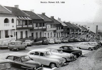 Donkin Row in 1960