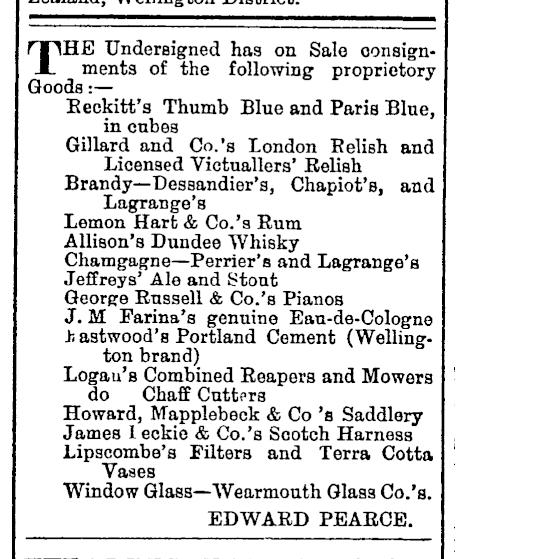 Evening Post New Zealand 1881