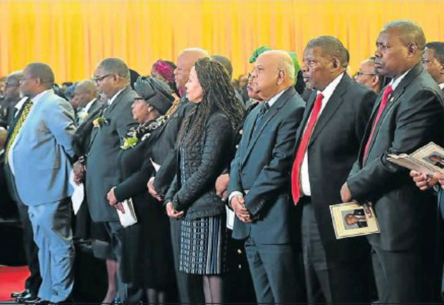 Funeral of Makhenkesi Stofile