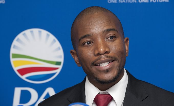Mmusi Maimane, the leader of the Democratic Alliance