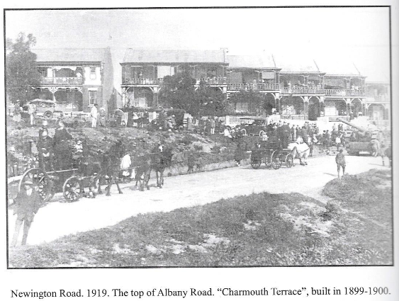Newington Road in 1919