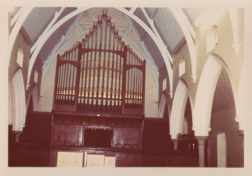 Organ before dismantling