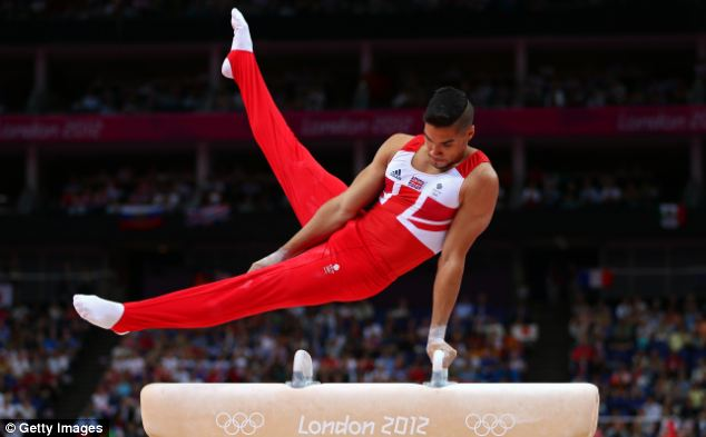 Exercises on the pommel horse were beyond my ability