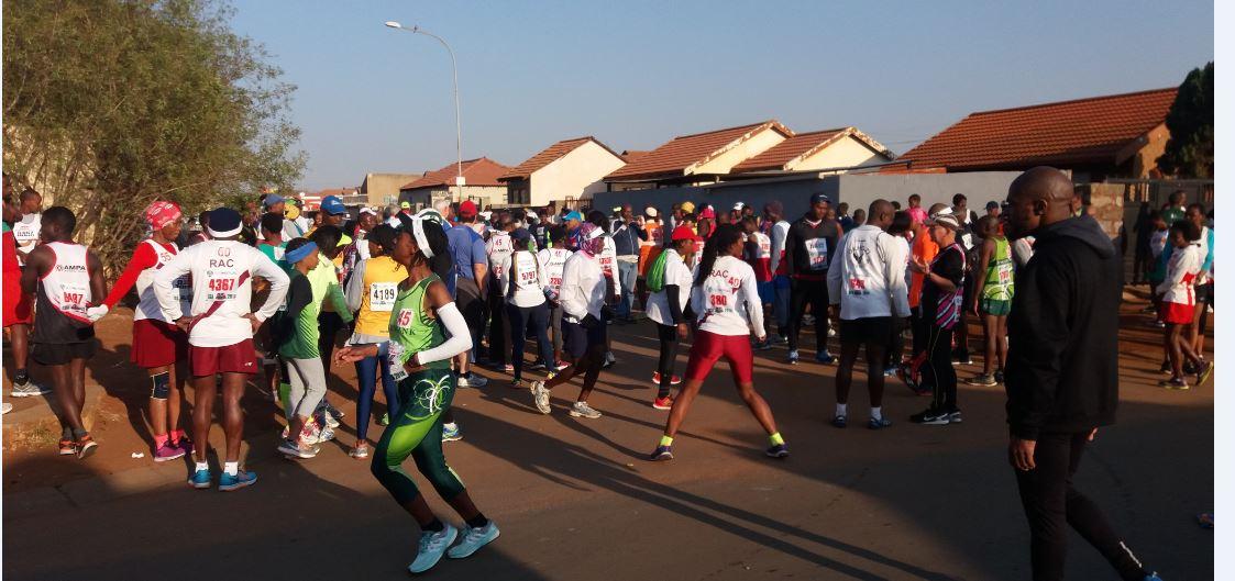 Running in Soweto