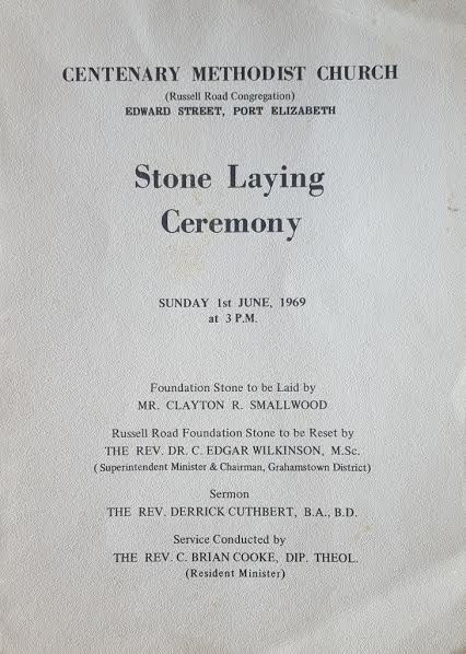 Stone Laying Ceremony