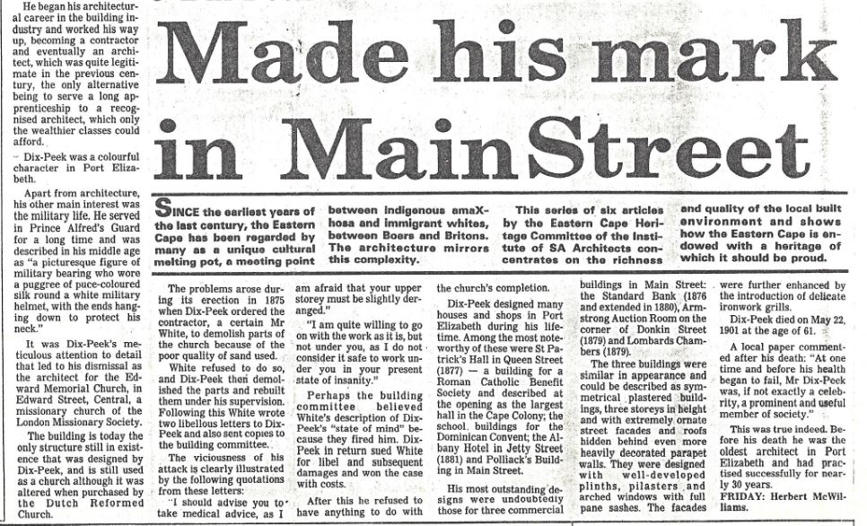 The Eastern Province Herald dated 8th June 1987 - Part 2