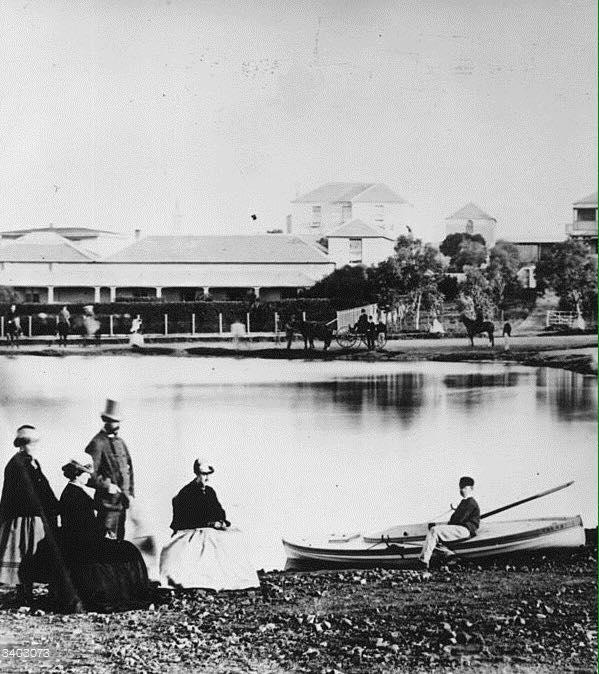 Trinder Square in 1867