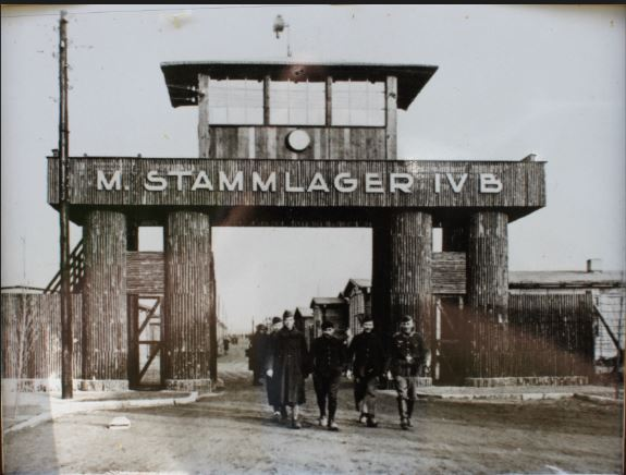 Entrance to Stalag IV-B