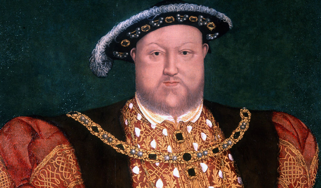 By now, Henry VIII was no longer the lithe young man but a man of considerable girth