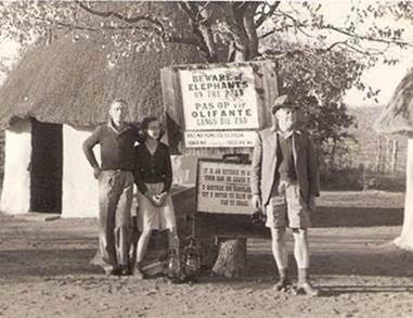 KNP camp in the 1940s