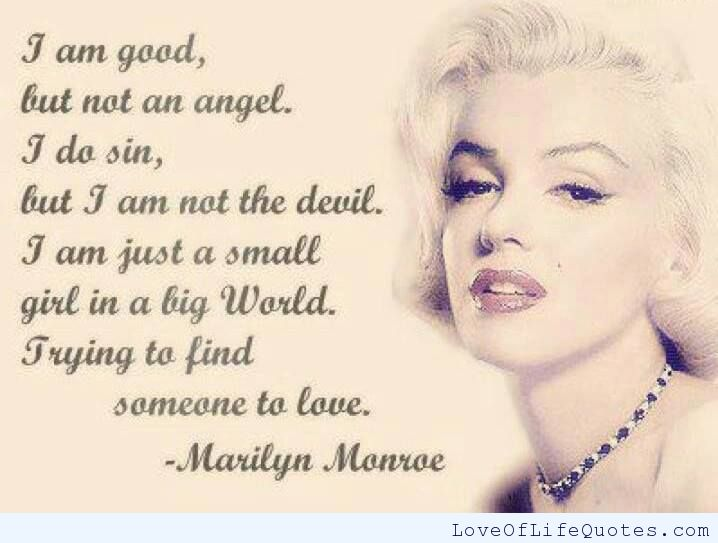 marilyn-monroe-quote-on-trying-to-find-someone-to-love