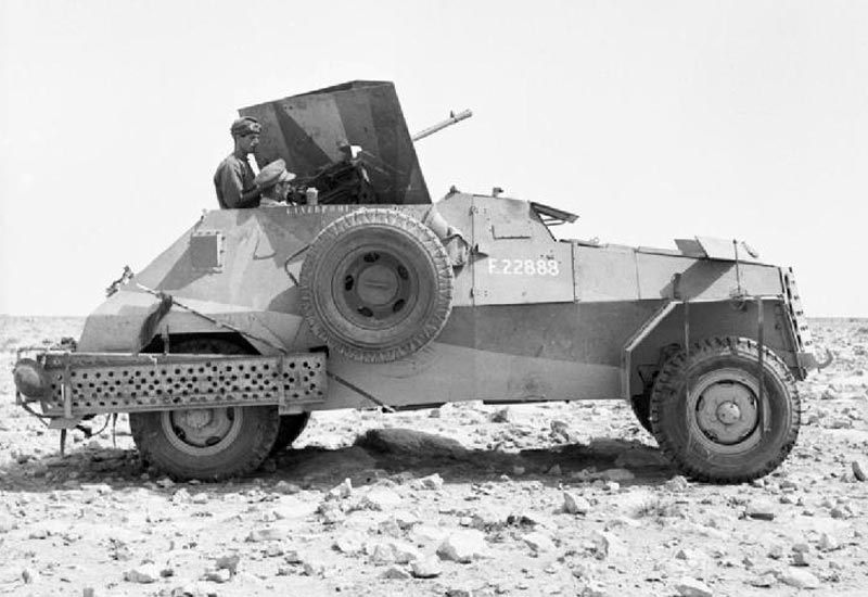 Marmon-Herrington (South African Reconnaissance Vehicle) - Wheeled Armored Scout Car