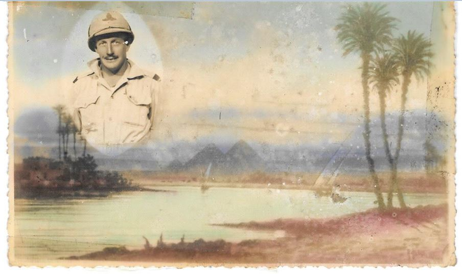 Mervyn Moore's Post Card from Alexandria in 1941