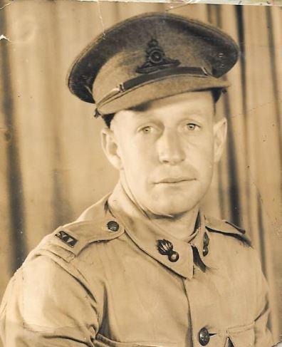 Mervyn Moore in Potchefstroom in 1940