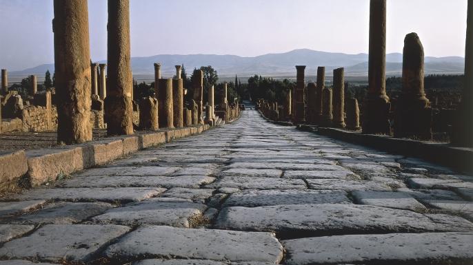 Romans applied the LHT Rule