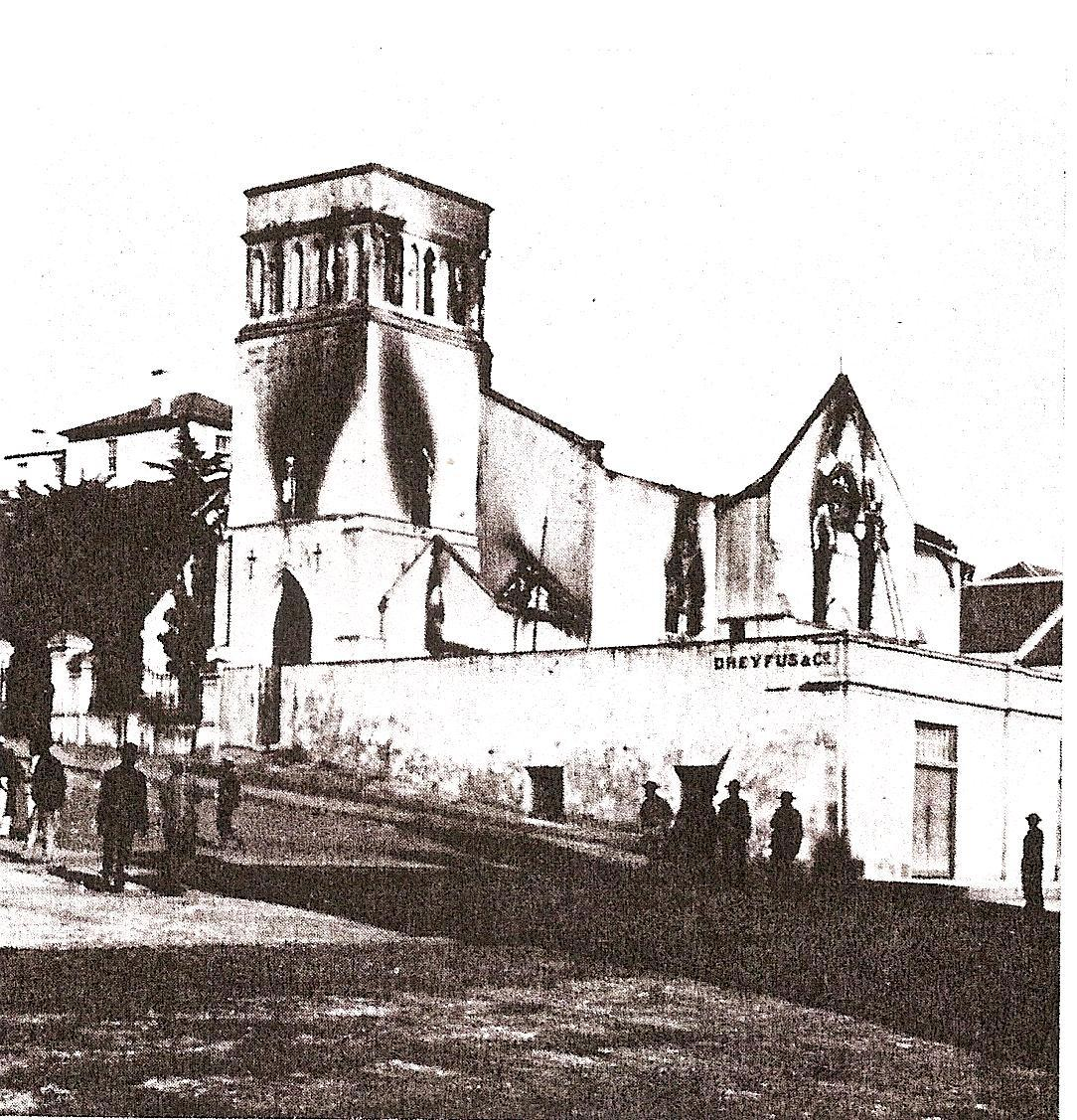 After the fire at St Mary's fire in 1895
