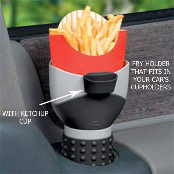 fry-holder
