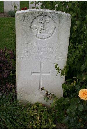 2nd Lieutenant Edward Kenneth H. Huntly