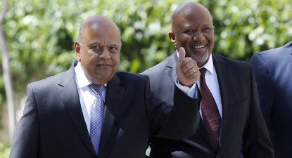 At the forefront of the struggle for clean government: Pravin Gordhan & Mcebisi Jonas