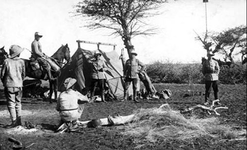 German soldiers in German South West Africa