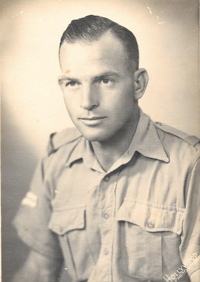 Harry Clifford McCleland during WW2