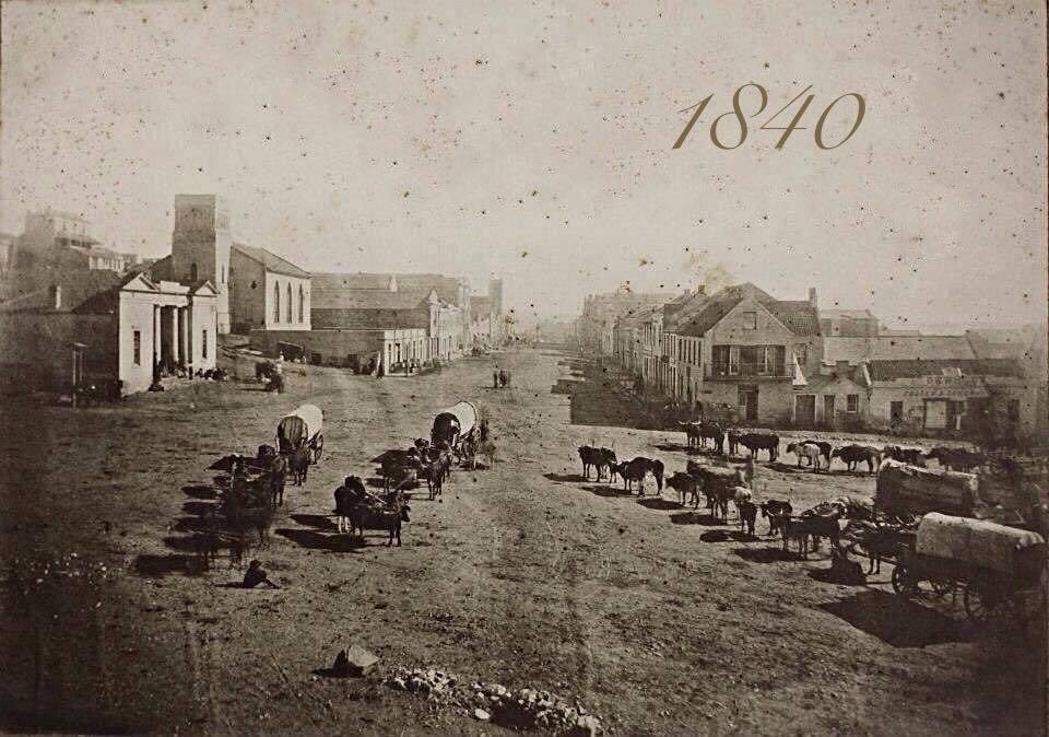 Main Street in 1840