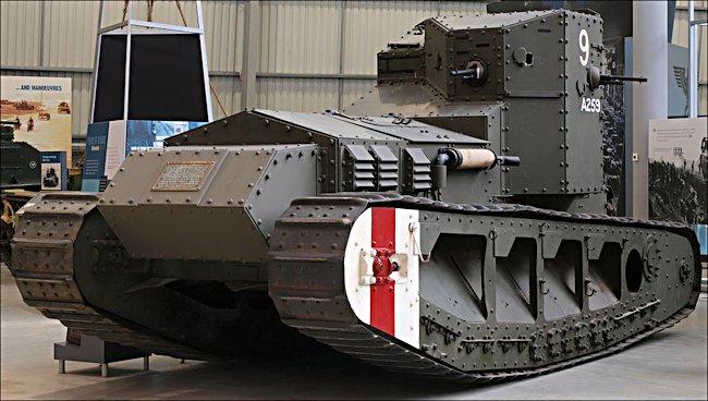 Mark A Whippet Tank