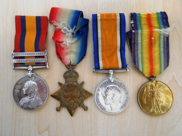Medals of Edwin Duberly
