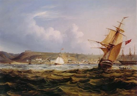painting-by-thomas-baines-of-the-settlers-arriving-in-algoa-bay