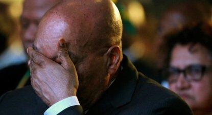 Zuma taking strain