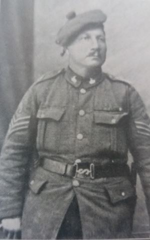 Sergeant J.F.D. Hall