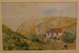 19th Century watercolour of Cooper's Kloof