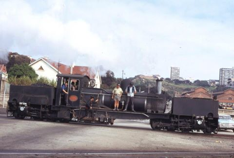 A bit of shunting going on in the vicinity of Albany Road, Port Elizabeth, sometime between the mid 1970's