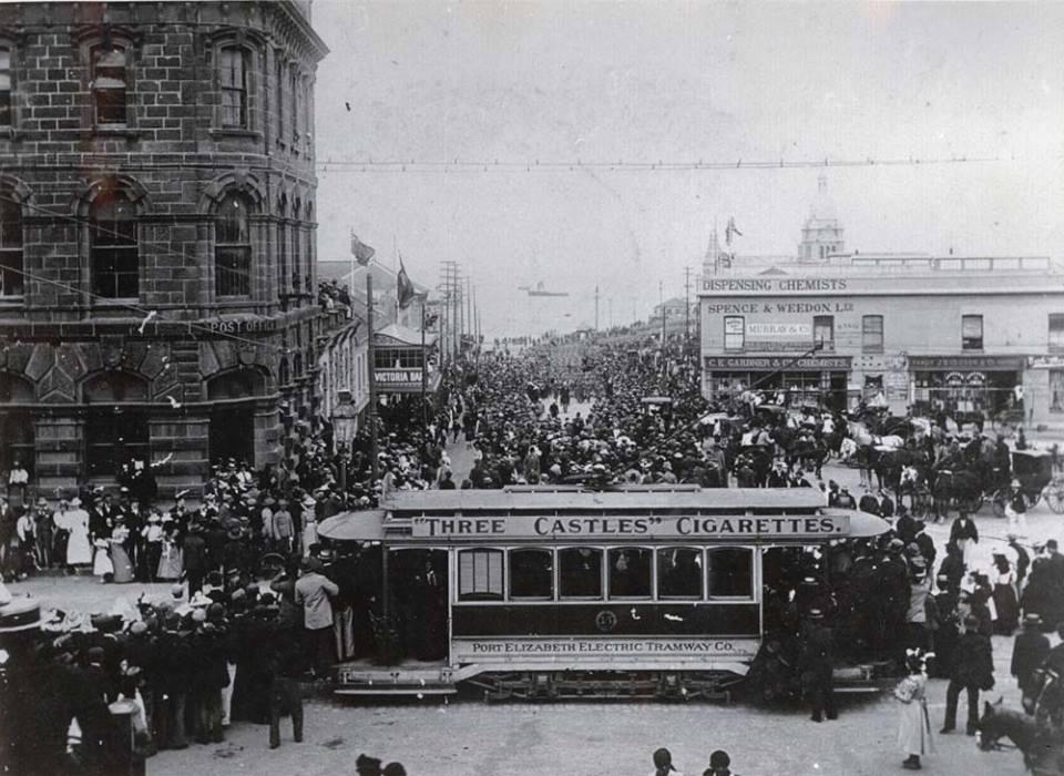 British troops landing in PE, 1900