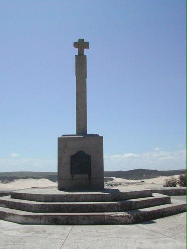 Replica of Diaz Cross at Kwaaihoek