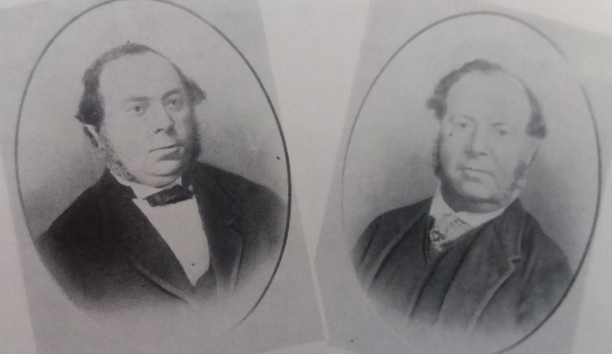 L-R: Adolph & Joseph Mosenthals