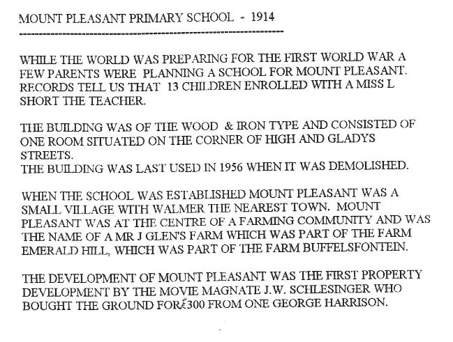 mount-pleasant-primary-school-in-1914