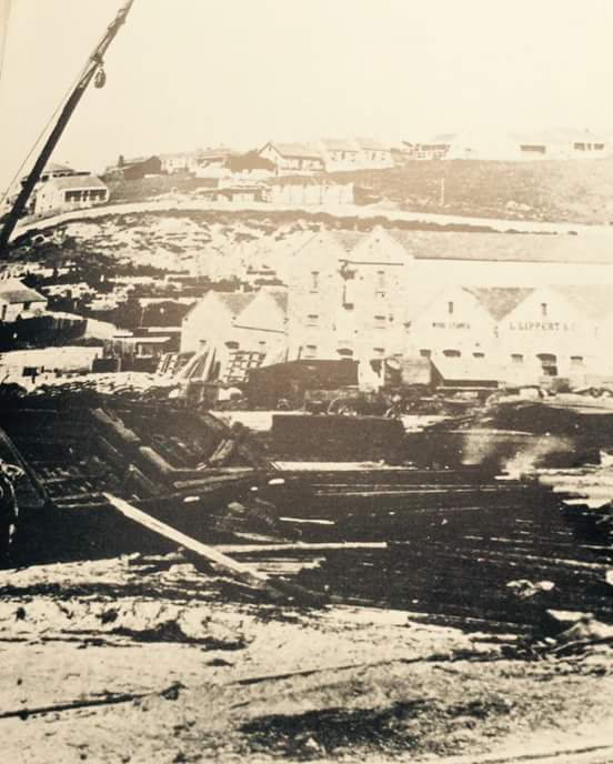 Another of the early photographs of Port Elizabeth probably from the 1850s