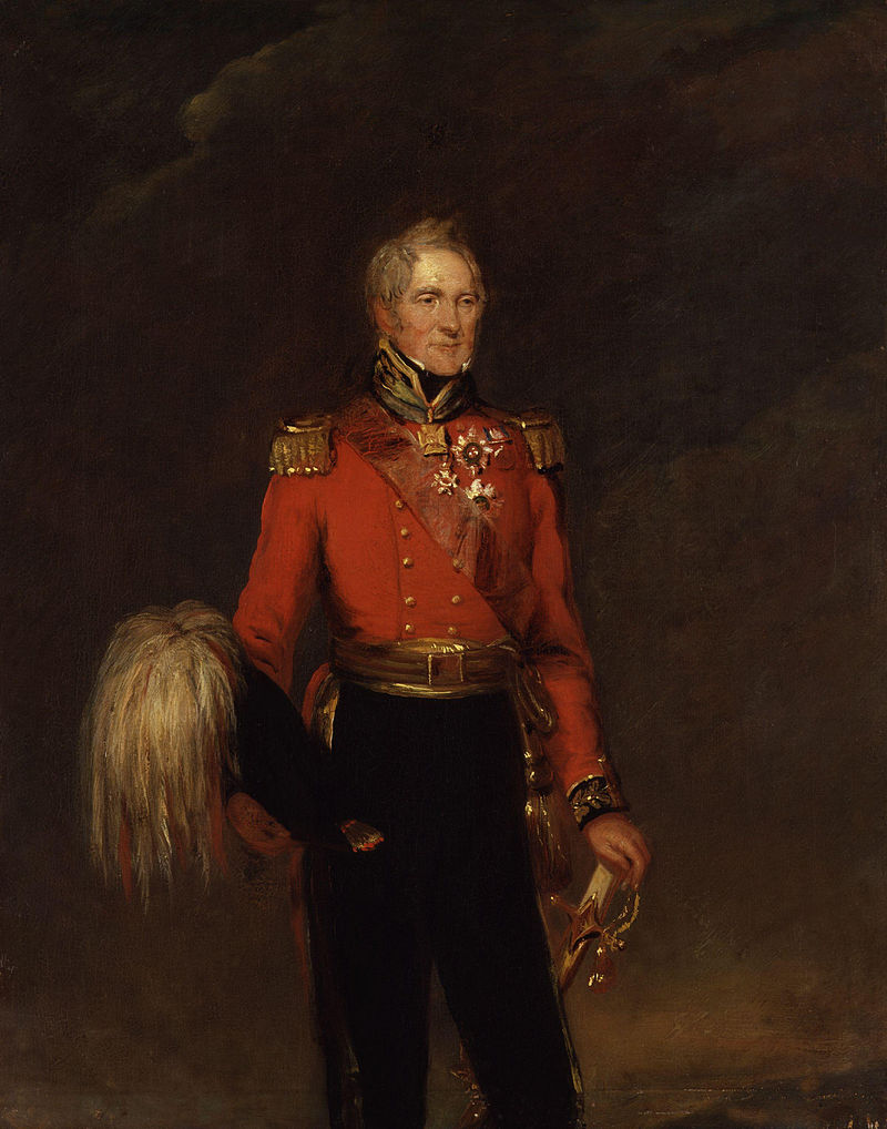 Sir John Ormsby Vandeleur painted by William Salter