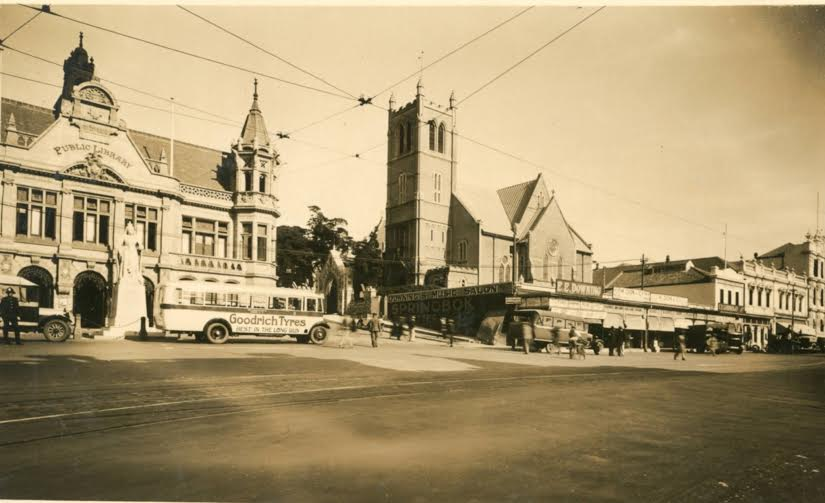 St Mary's Church circa 1940s