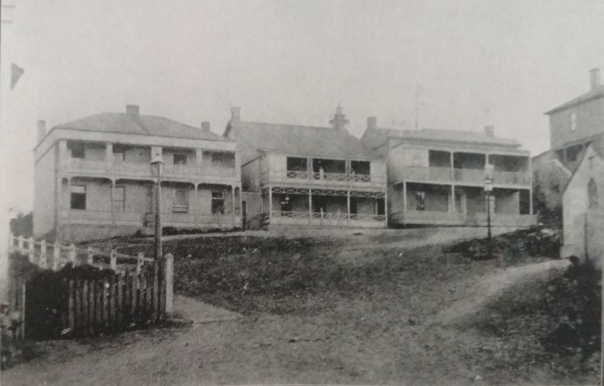 St Mary's Terrace in 1875