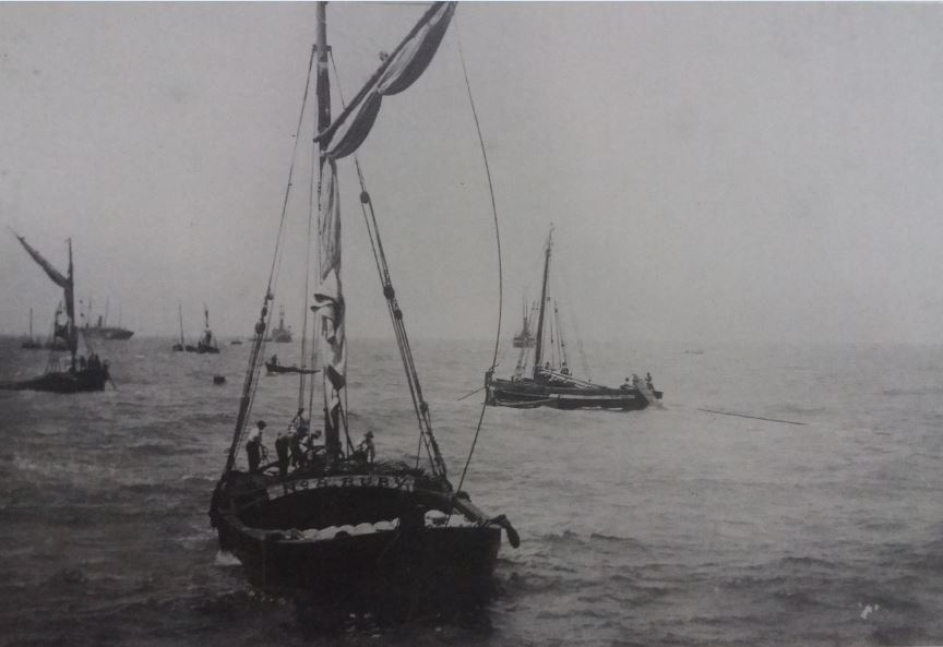 The surf boats