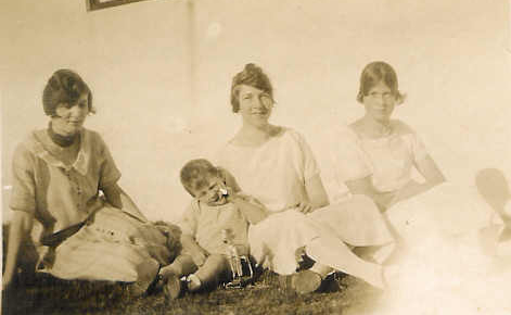 Bryce with his three sisters- Kathleen, Maureen & Thelma