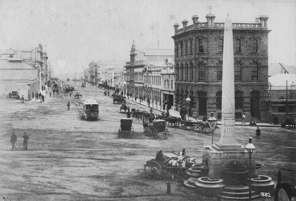Market Square in 1882