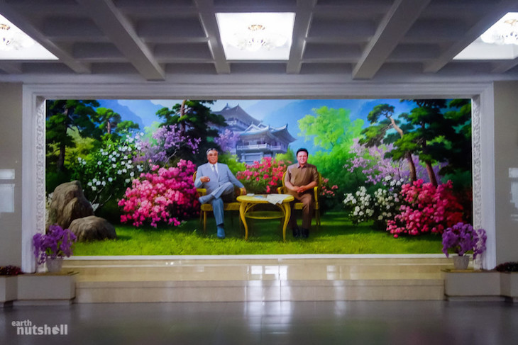 an-expansive-mural-in-chongchon-hotel-at-mt-myohyang-where-tourists-can-have-hot-cuppa-and-a-cigarette-with-dear-leader
