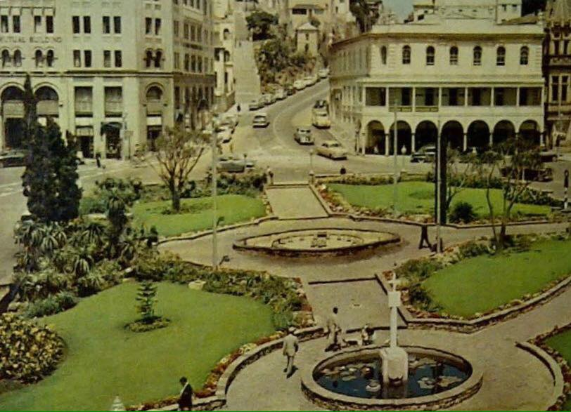 Diaz Cross in Mayors Garden 1960's