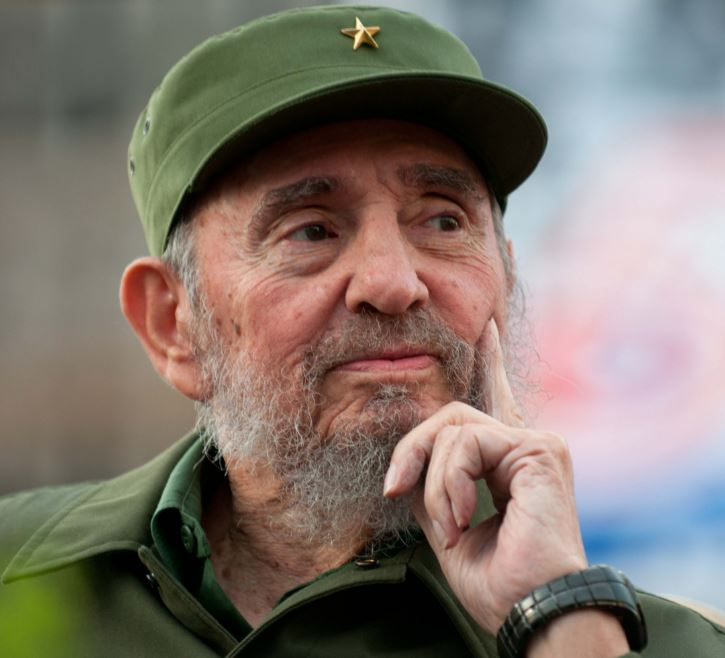 Fidel, the qientessental dictator, in his dotage