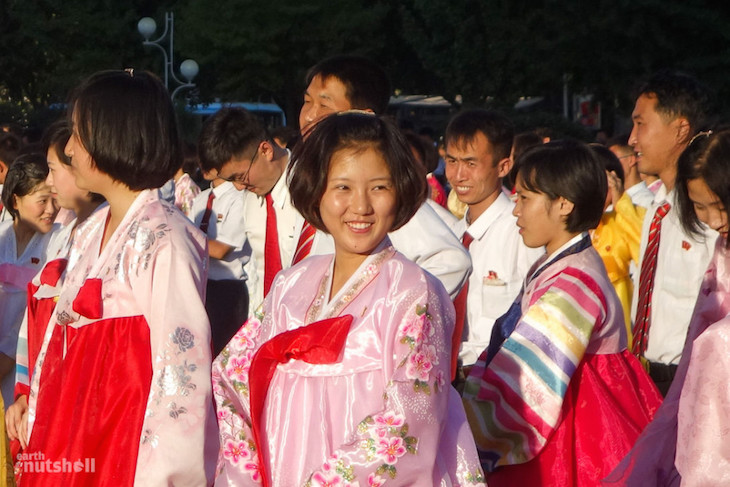 locals-excited-to-begin-a-mass-dance-in-pyongyang-for-national-day-the-celebration-of-the-founding-of-north-korea-in-1948