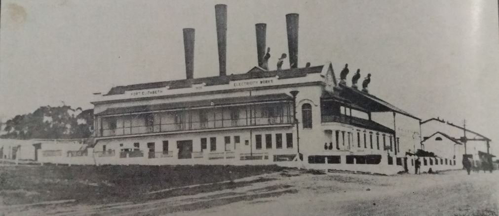 Mount Road Power Station in 1910